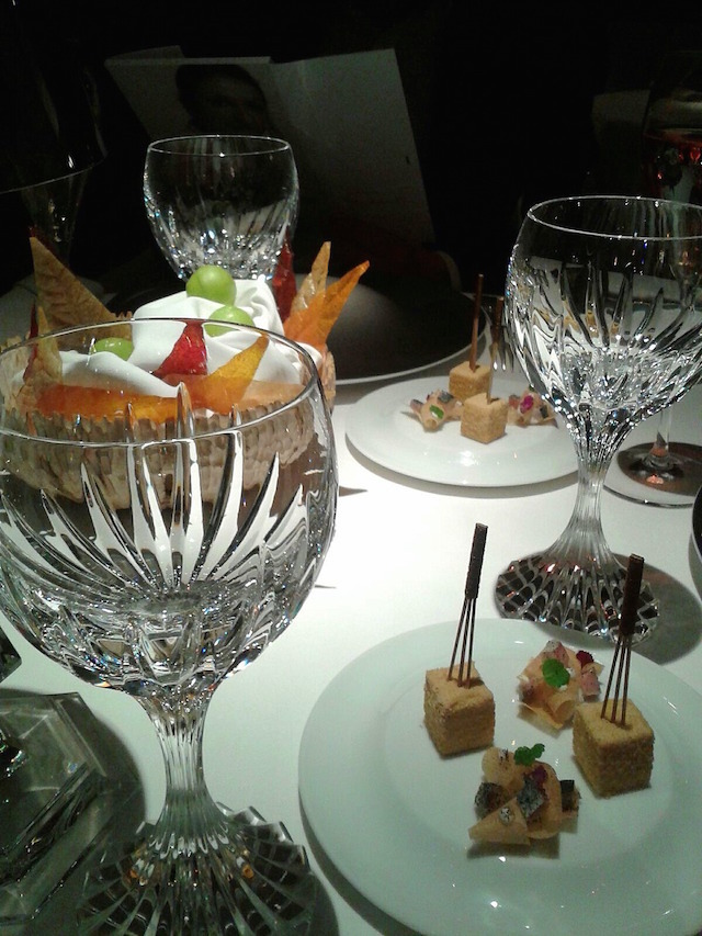 Nibbles at Anne-Sophie Pic restaurant, Valence