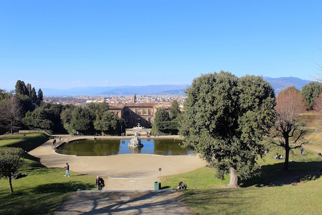Week-end in Florence, exploring the Boboli gardens