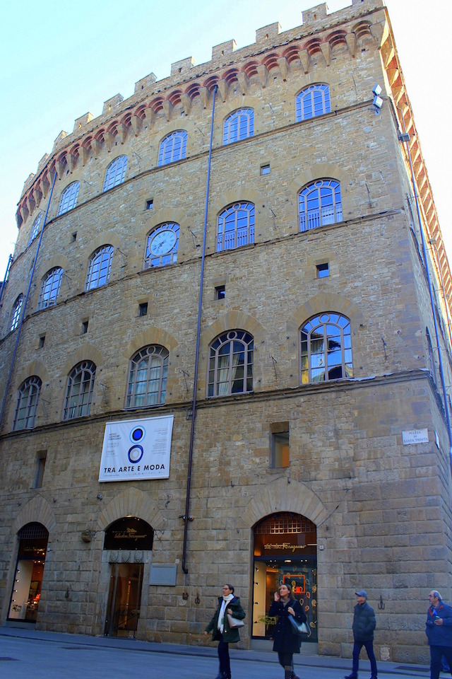 Ferragamo museum in via Tornabuoni in Florence