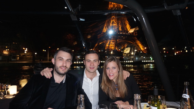 Restaurant for a special occasion in Paris: dinner cruise on the Seine