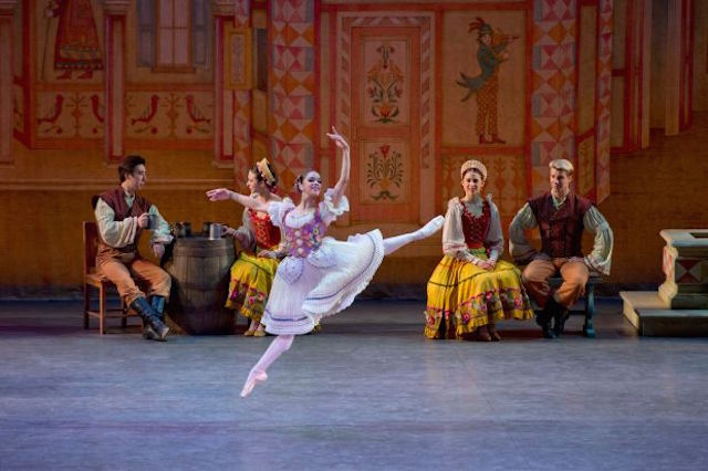"ABT principal dancer Misty Copeland in ""Coppelia"""