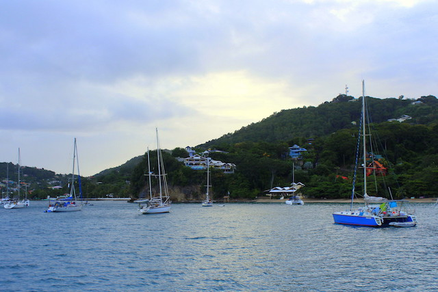 Sunrise in Bequia, Grenadine islands