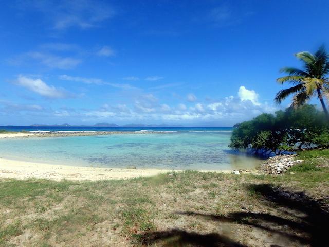 Exploring Mustique island