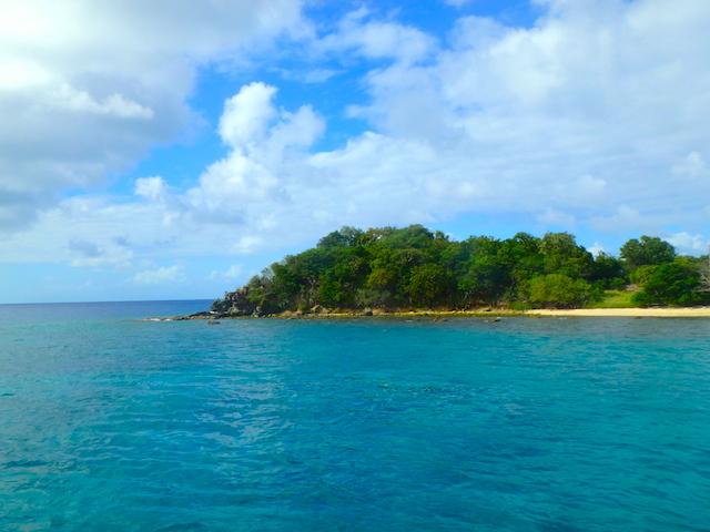 Snorkeling spot in Canouan in the Grenadine islands