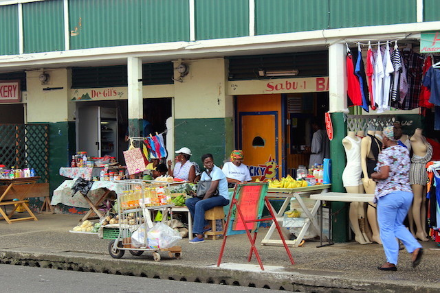 Castries market in St. Lucia