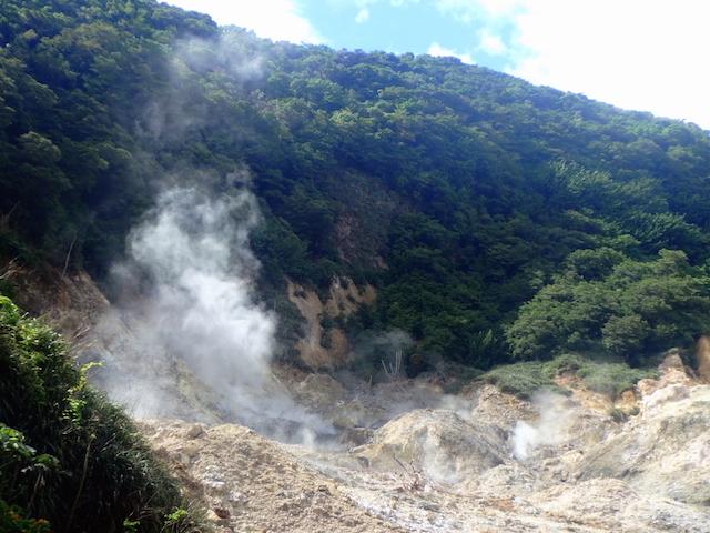 La Soufrière in St. Lucia