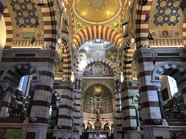 Visiting the Basilique Notre-Dame de la Garde, Marseille