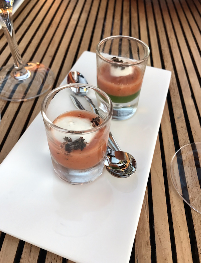 Gazpacho at Restaurant Peron in Marseille, France
