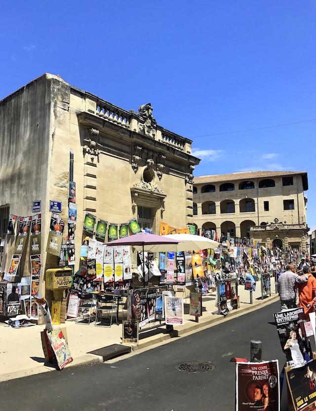 Theatre Festival in Avignon, France