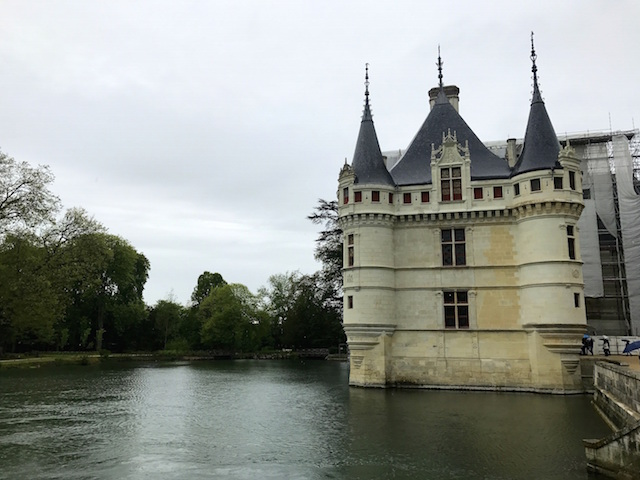 The castle of Azay-le-Rideau