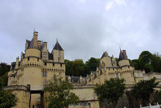 The Sleeping Beauty castle in France