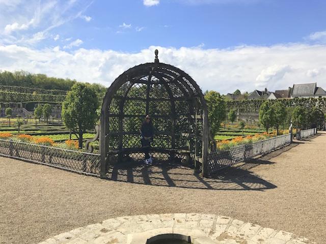 The gardens of Villandry castle