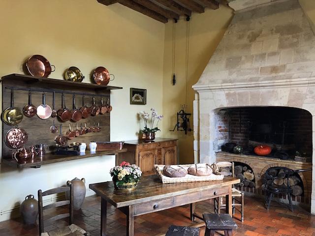 Kitchen in Villandry castle
