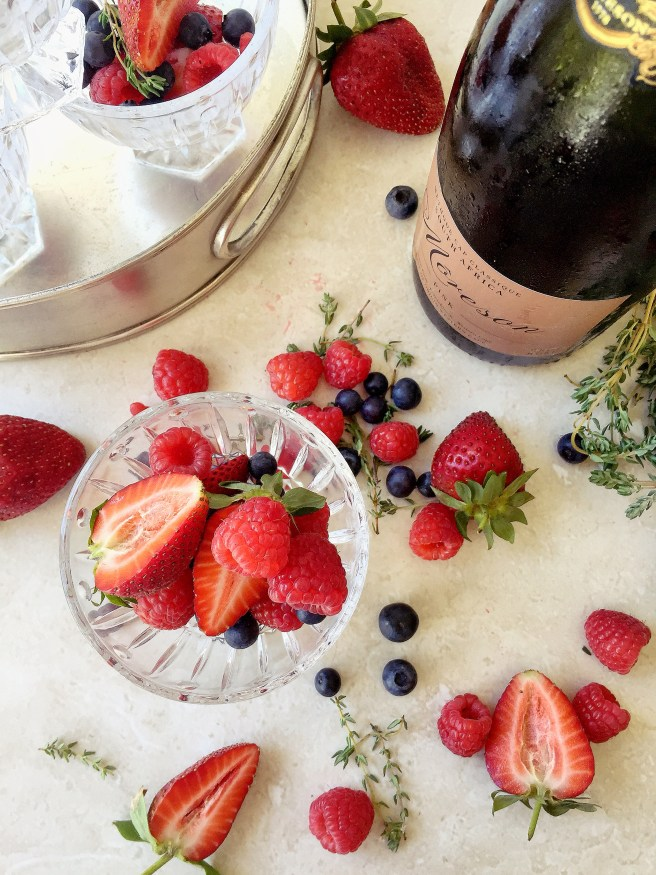 Berries and Moreson Bubbly