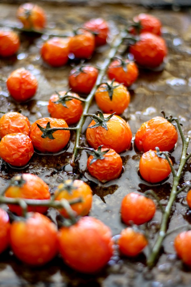 blistered cherry tomatoes | The Secret Life of Bee