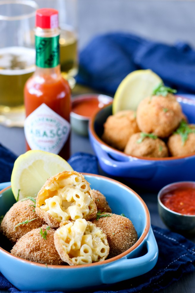 Tabasco mac and cheese bites | The Secret Life of Bee