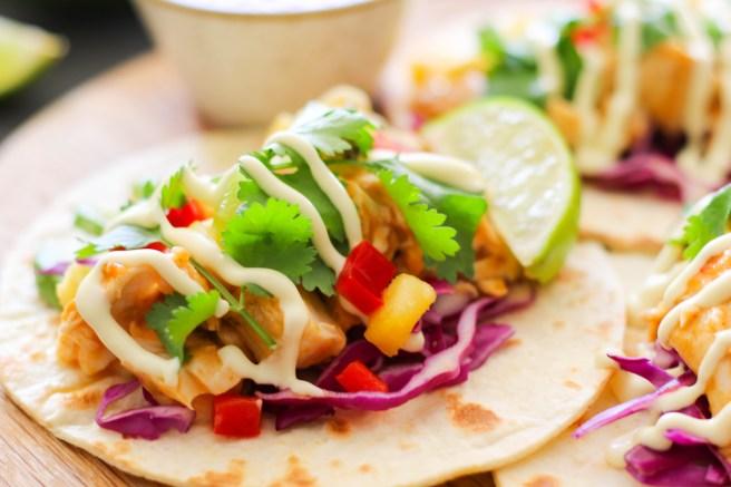 peri-peri fish tacos | The Secret Life of Bee