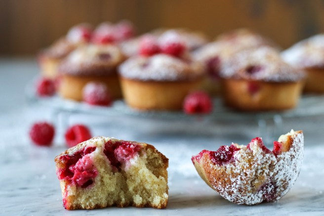 Raspberry Financiers | The Secret Life of Bee