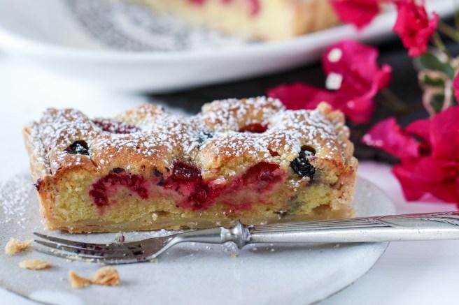 mixed berry tart | The Secret Life of Bee