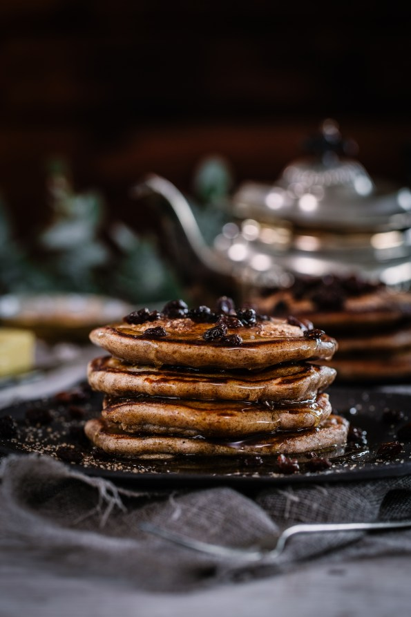 Spiced Rum & Raisin Pancakes | The Secret Life of Bee