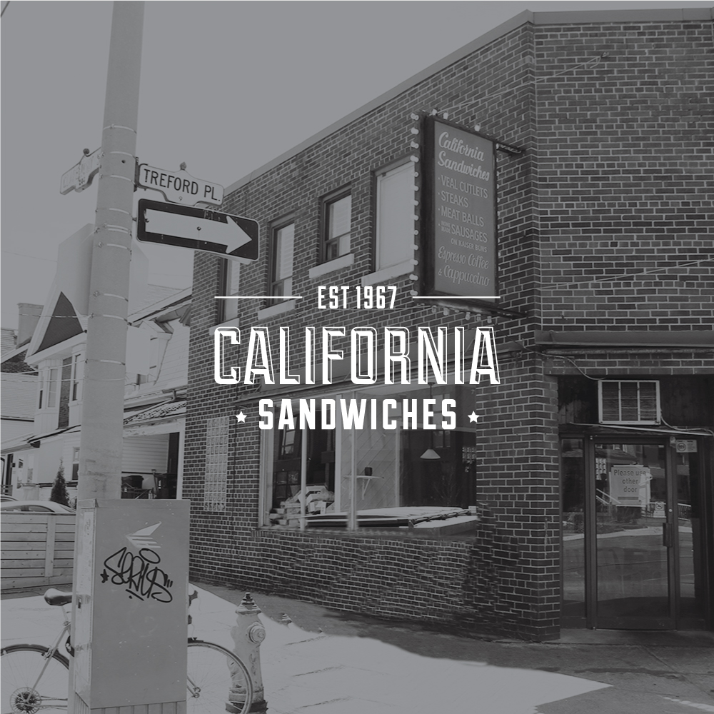 Toronto Logo Design - California Sandwiches