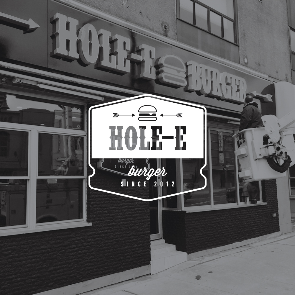 Logo Design Toronto - Hole Burger