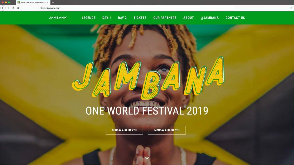 Toronto Website Design - Jambana