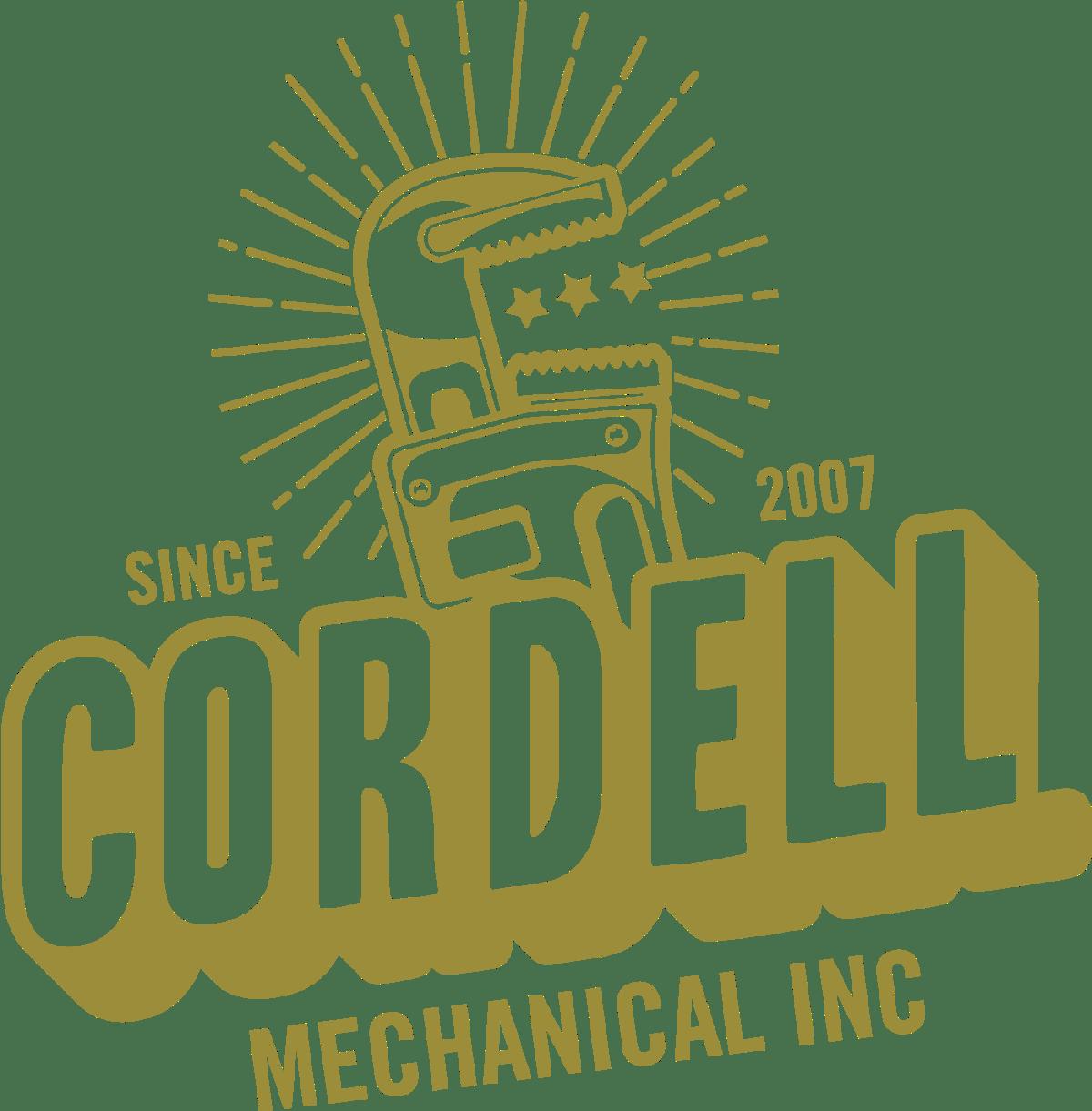 Cordell Mechanical Inc. Logo Design