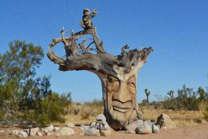 Treebeard-Groot-yucca-valley-joshua-tree-national-park-adventure-tour-oil-painting