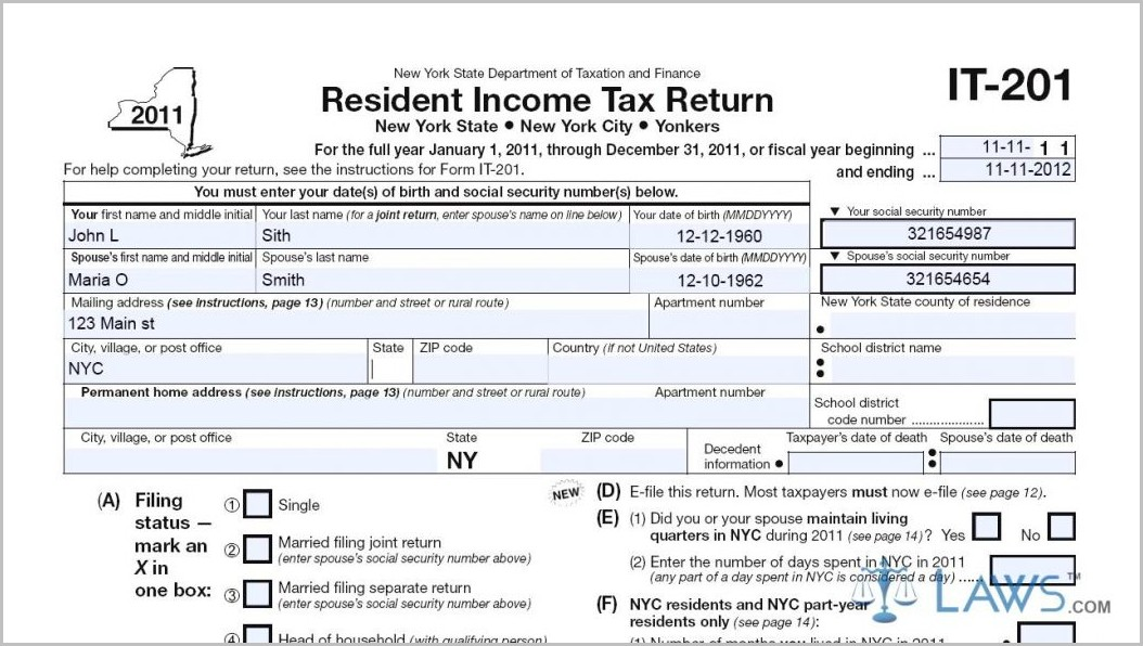 1040ez Form 2014 Illinois