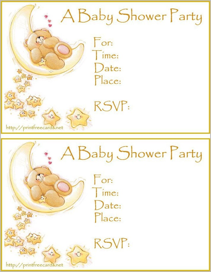 Baby Shower Invitations Templates Editable Online