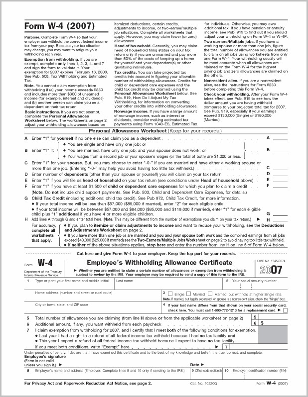 Fillable W 9 Tax Form