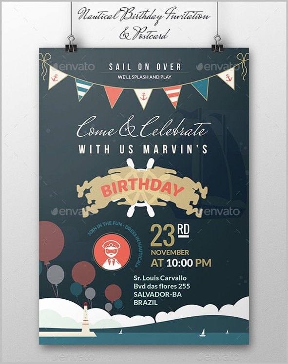 Free Invitation Templates Birthday