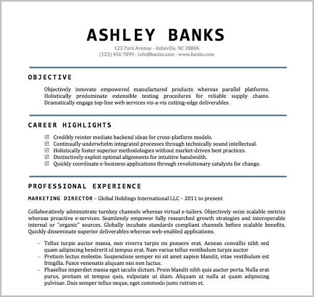 Free Resume Templates Word Document Resume Corner Resume Format With Free Resume Templates Word Format