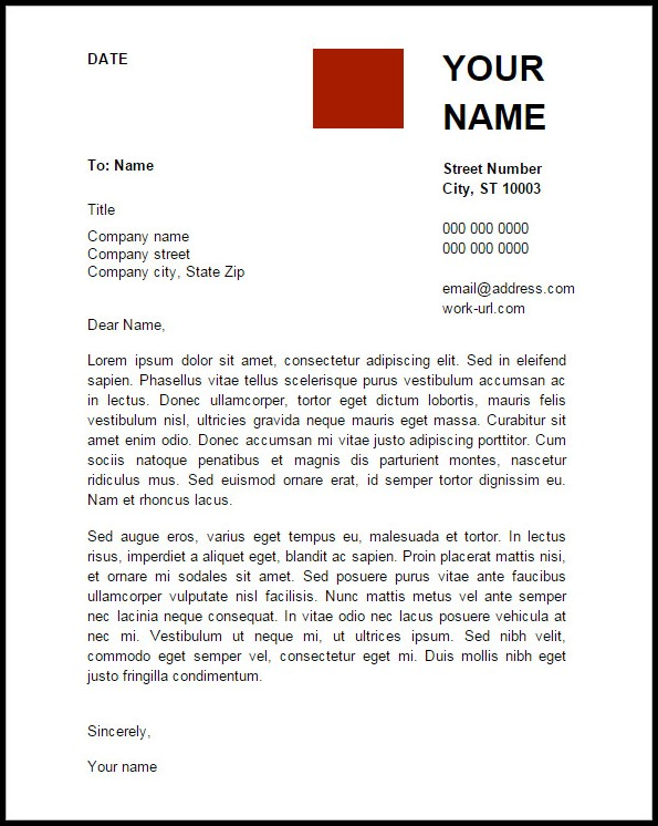 Google Docs Resumes And Cover Letters Templates