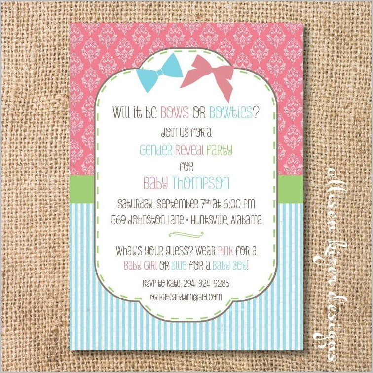 Hallmark Baby Shower Invitation Templates