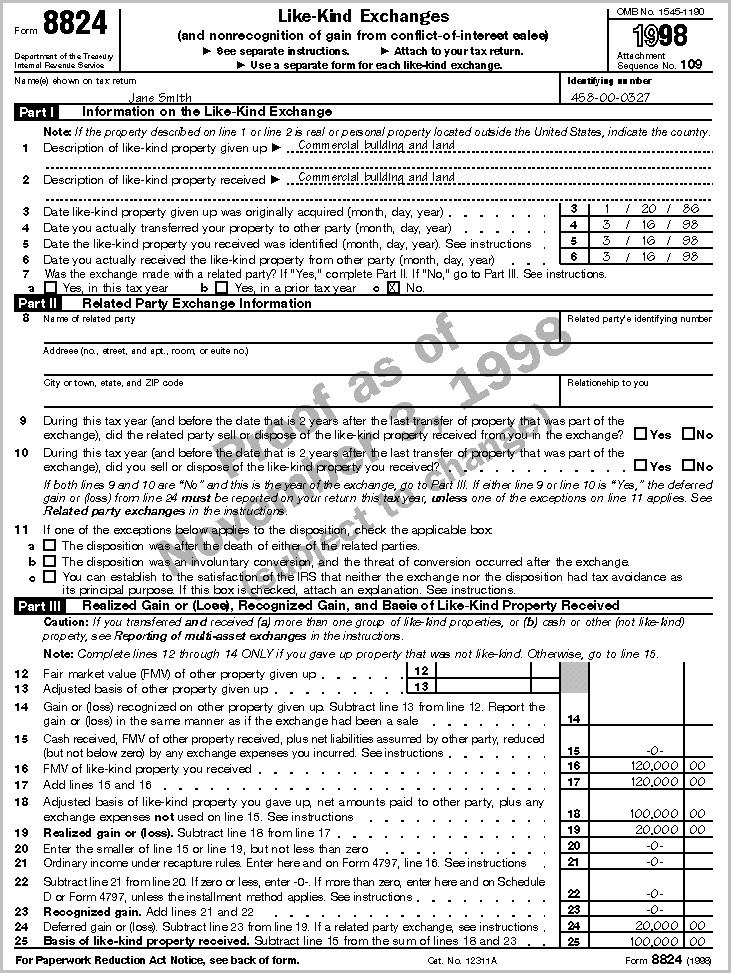 Irs 1040 Form 4797