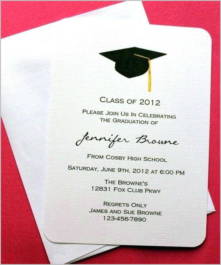 Law School Graduation Invitation Templates Free