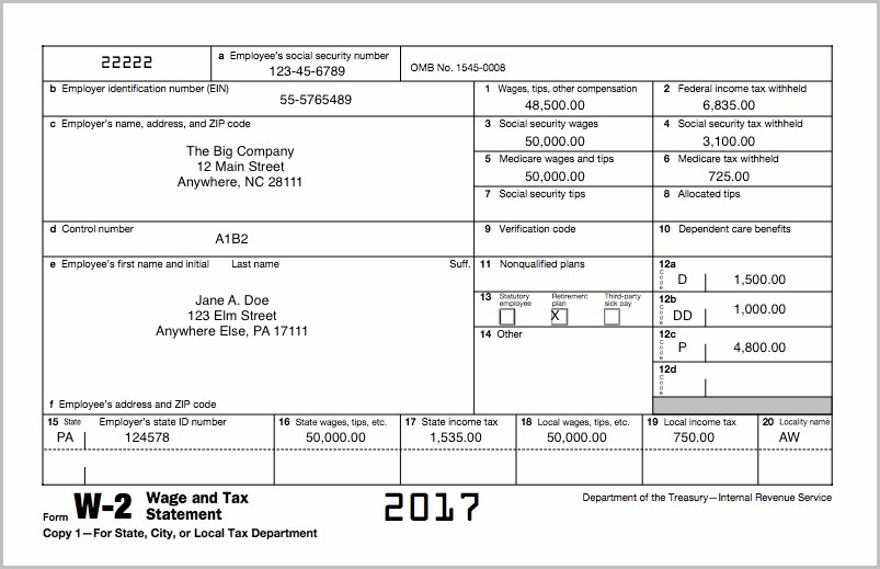 Printable 1099 Form 2017 Fillable
