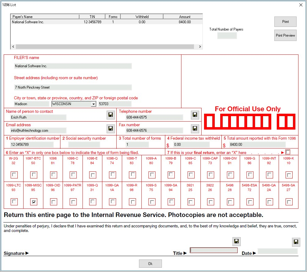 2013 Irs Form 1099 A
