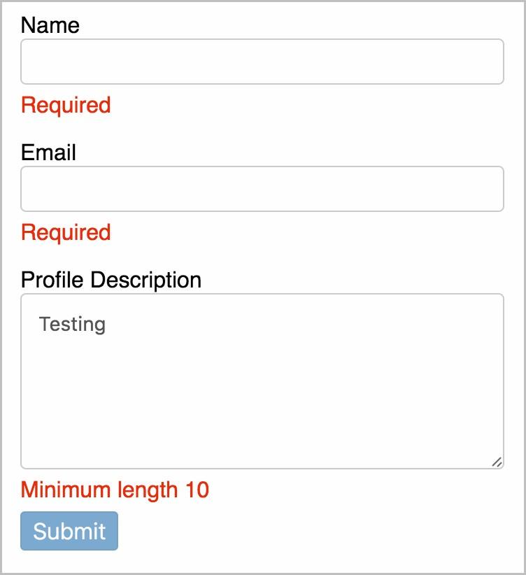 Angular Form Builder Demo