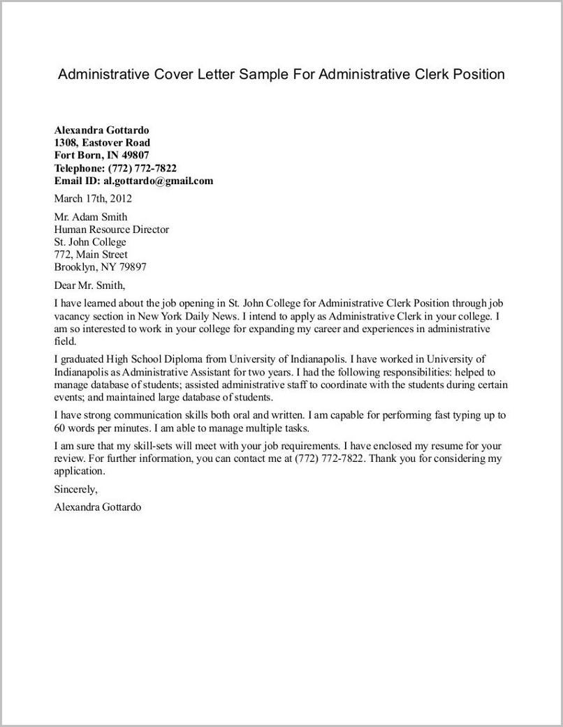 Apostille Cover Letter Florida