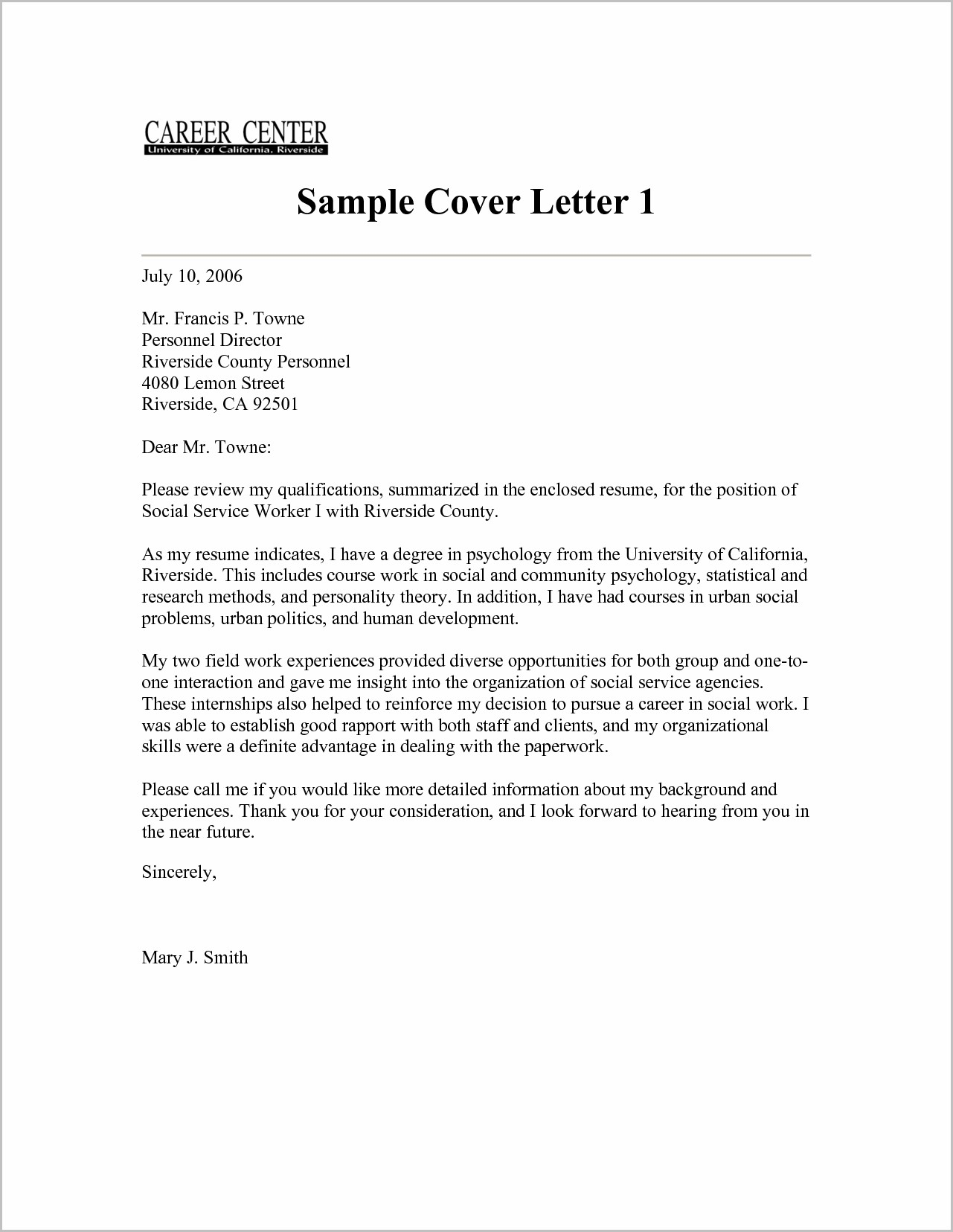 Apostille Cover Letter Template