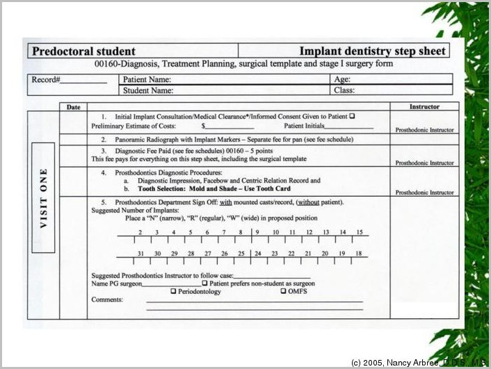 Chiropractic Intake Form Templates