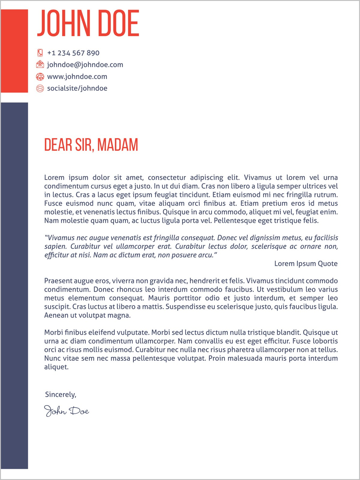 Cover Letter For Dream Job Examples