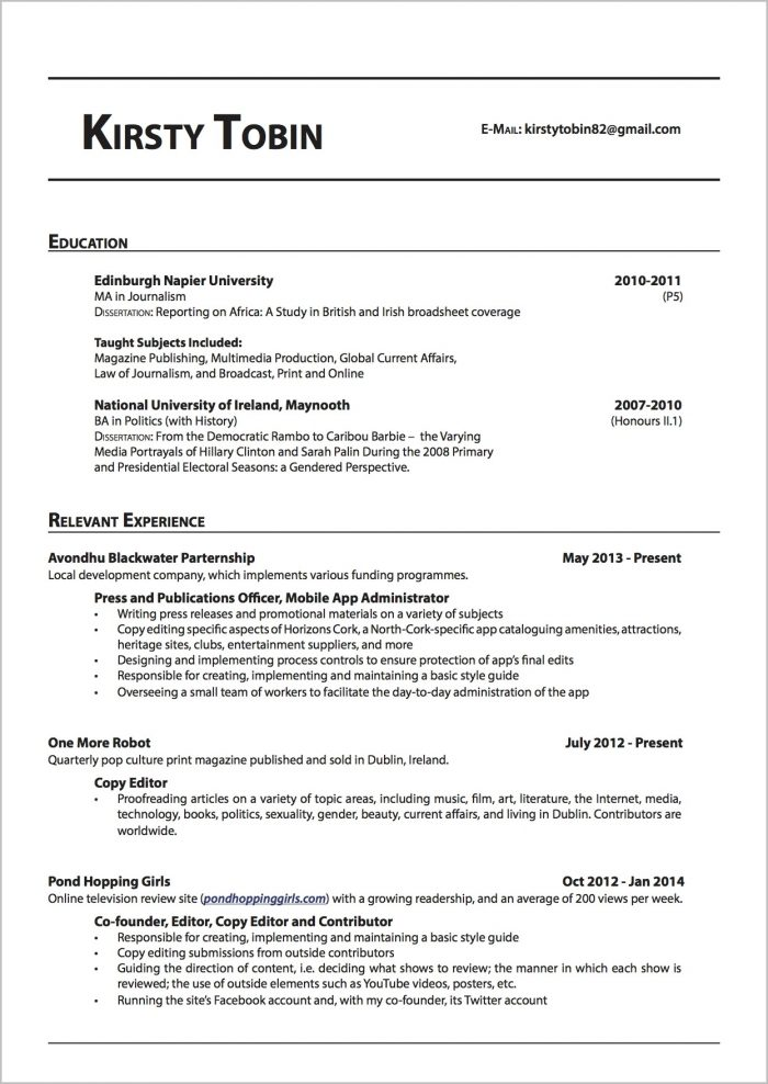 Cover Letter For Freelance Proofreader