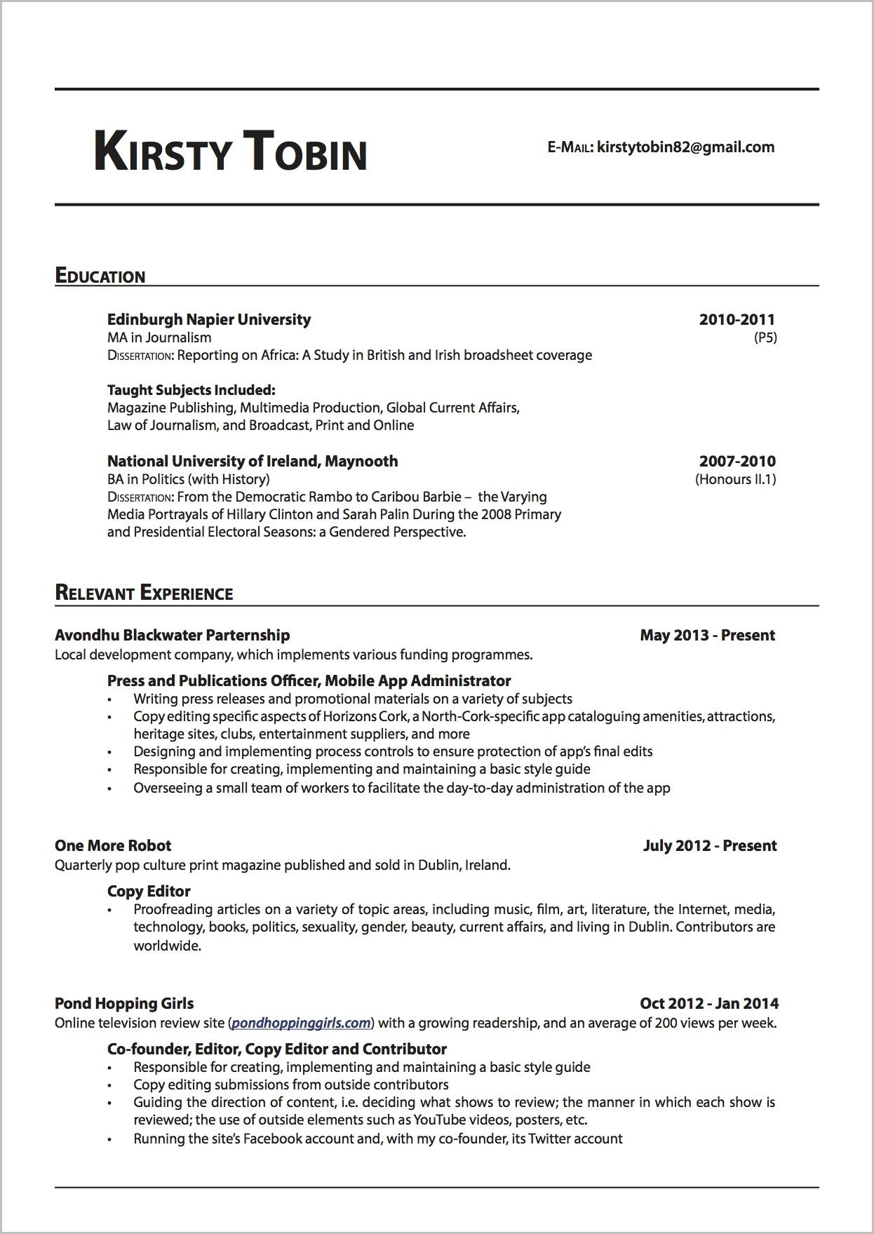 Cover Letter For Freelance Proofreader