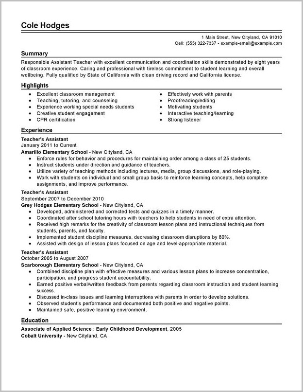 Cover Letter For Home Help