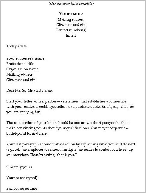 Cover Letter For Warehouse Helper