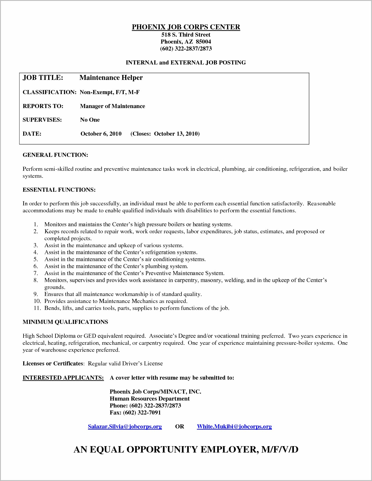 Cover Letter For Welder Helper